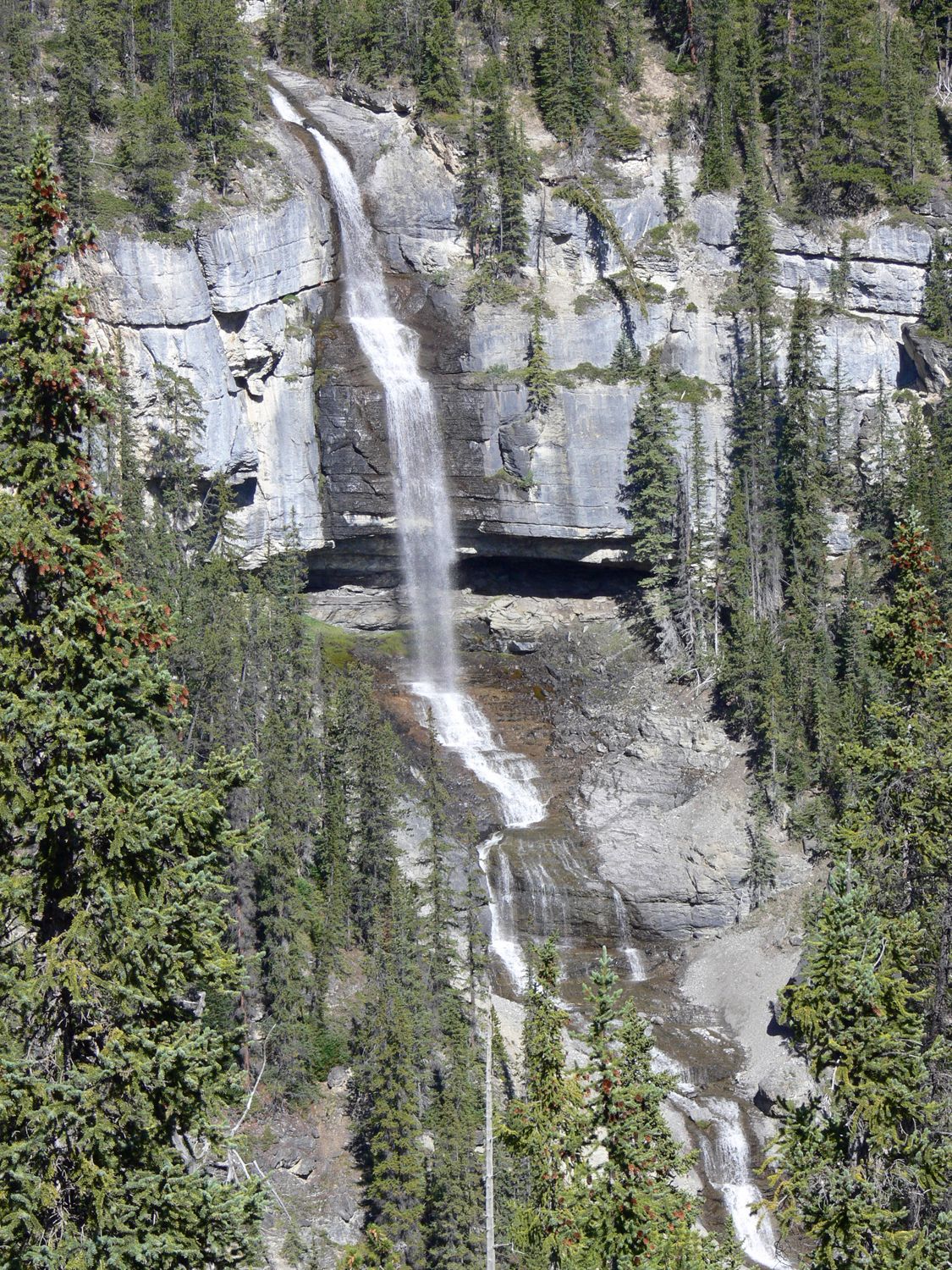 Bridal Veil Falls, Banff NP - Aug 2008
