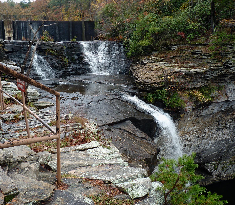 Upper & Lower DeSoto Falls