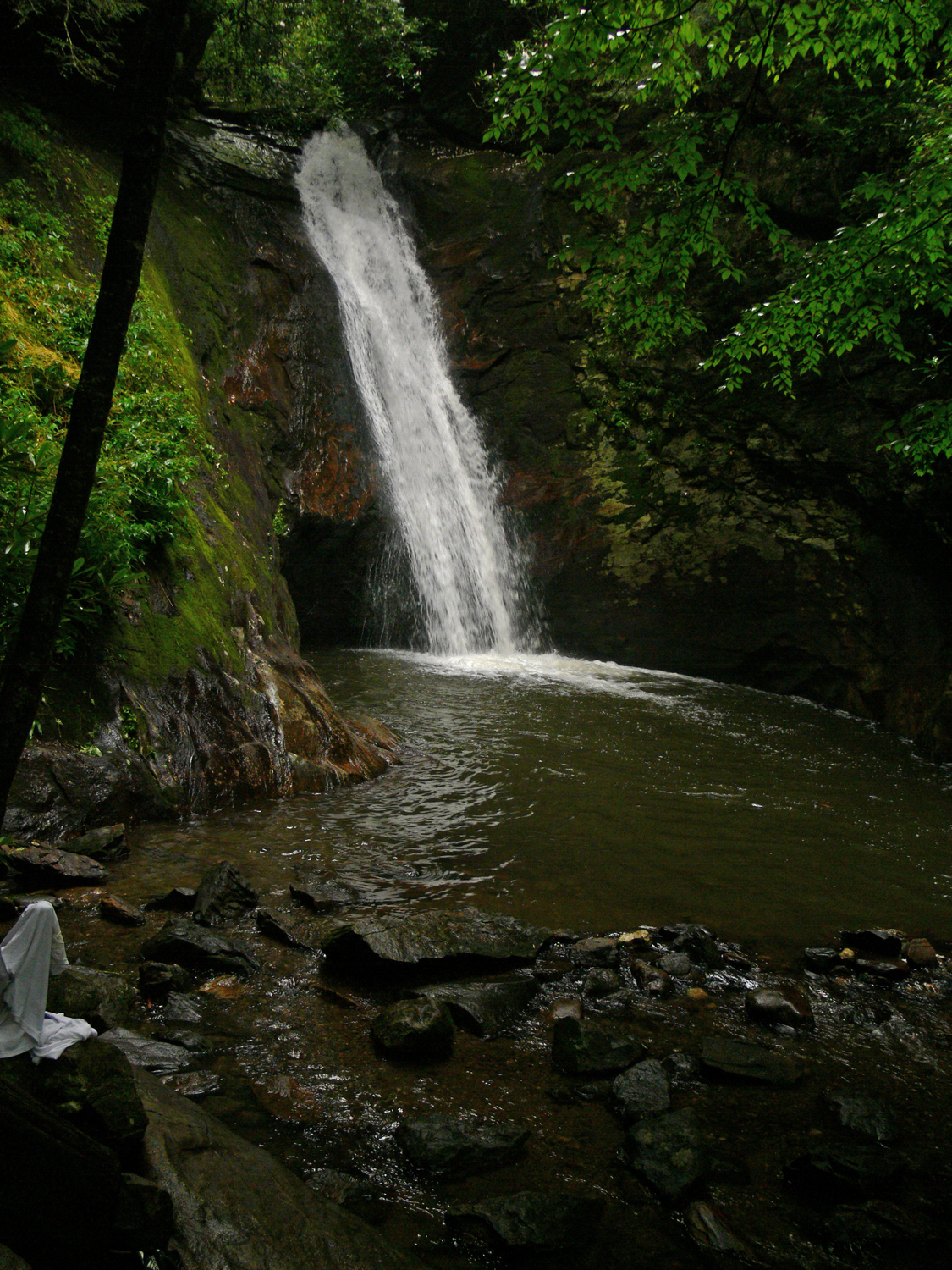 Courthouse Falls - Pisgah National Forest, Brevard NC