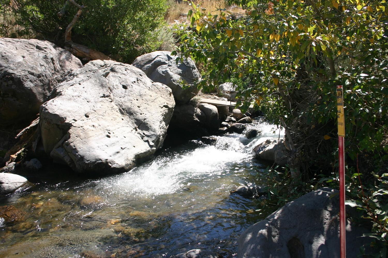 Hunter Creek, flowing well in September 2011.