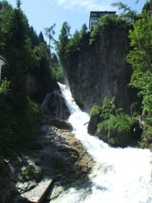 Bad Gastein middle fall