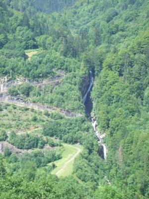 Cascade de Saubaudy