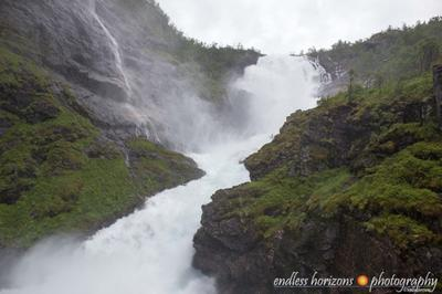 Kjosfossen waterfall, Norway