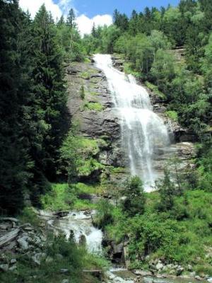 Lower cascade of the Melnikfall