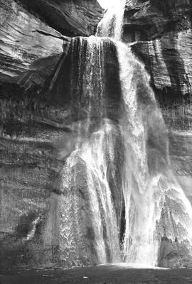 Lower Calf Creek Falls, from 1974