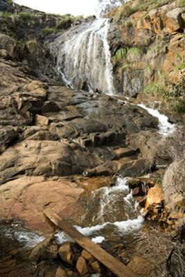 Lesmurdie Falls in Winter