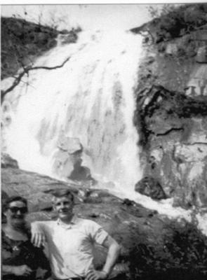 Lesmurdie Falls 1965
