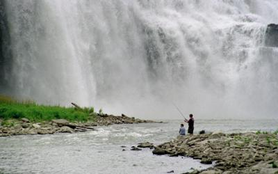 Lower Falls in Rochester