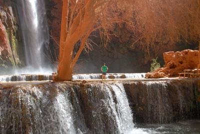 Mooney Falls 3/30/2010