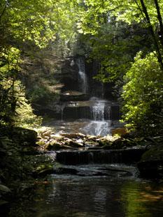 Boren Mill Shoals Falls