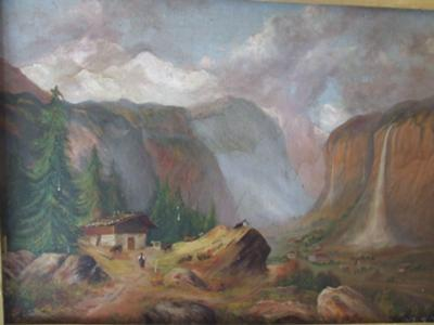 Lauterbrunnen painting?