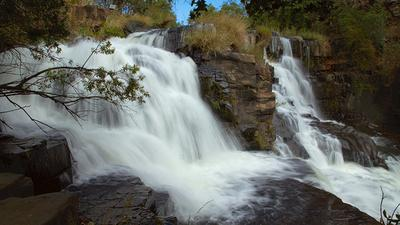 Nyangombe Falls - upper part only