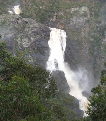 Tia Falls. May 2009