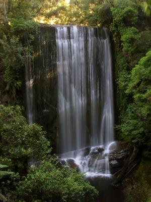 Waterfall at Lake Waikaremoana