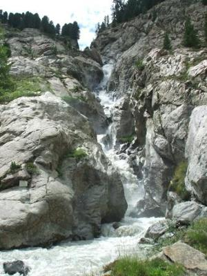 Lower Rifflbach Fall
